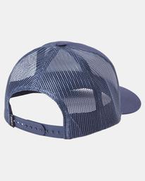 3 Day Shift Trucker Hat Blue AVYHA00232 RVCA
