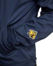 9 Evan Mock | W 16th St. Service Jacket Blue AVYJK00125 RVCA
