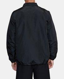 2 Parillo Boxing Coaches Jacket Black AVYJK00129 RVCA