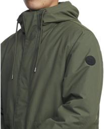 4 Standard Patrol Hooded Parka Jacket Green AVYJK00143 RVCA