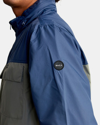 8 Baybreaker 2 Jacket Blue AVYJK00146 RVCA