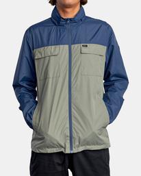 0 Baybreaker 2 Jacket Blue AVYJK00146 RVCA