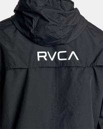 13 Outsider Packable Anorak Jacket Black AVYJK00148 RVCA