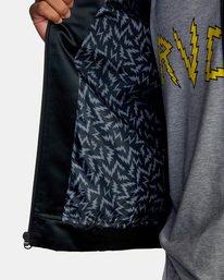 6 Matt Leines   Leines Souvenir Jacket Black AVYJK00151 RVCA