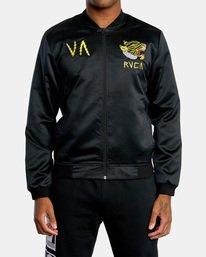 0 Matt Leines   Leines Souvenir Jacket Black AVYJK00151 RVCA