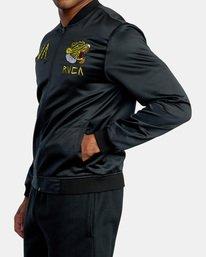 3 Matt Leines   Leines Souvenir Jacket Black AVYJK00151 RVCA