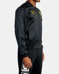 4 Matt Leines   Leines Souvenir Jacket Black AVYJK00151 RVCA
