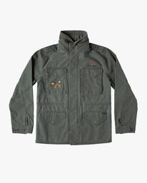 0 Melissa Grisancich   Mel G M65 Military Jacket Beige AVYJK00152 RVCA