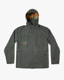 1 Melissa Grisancich   Mel G M65 Military Jacket Beige AVYJK00152 RVCA