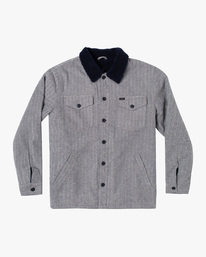 0 Benny Shirt Jacket Grey AVYJK00156 RVCA