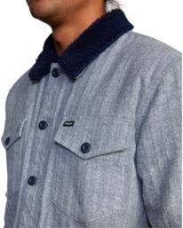 2 Benny Shirt Jacket Grey AVYJK00156 RVCA