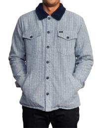 1 Benny Shirt Jacket Grey AVYJK00156 RVCA