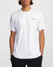 0 Balance Arc Performance Short Sleeve Tee White AVYKT00174 RVCA