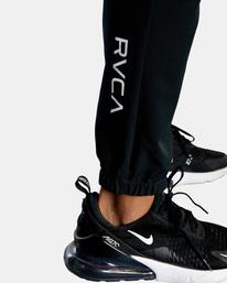 9 YOGGER STRETCH TRACK PANT Black AVYNP00109 RVCA