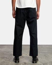 2 Curren Trouser Pant Black AVYNP00110 RVCA