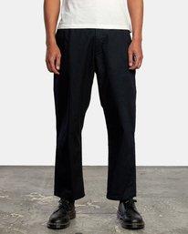 1 Curren Trouser Pant Black AVYNP00110 RVCA