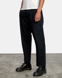 3 Curren Trouser Pant Black AVYNP00110 RVCA
