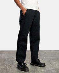 4 Curren Trouser Pant Black AVYNP00110 RVCA