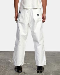 3 Evan Mock   Chainmail Pants White AVYNP00111 RVCA