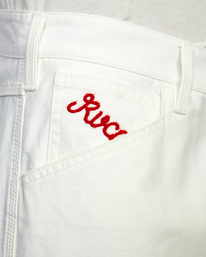 8 Evan Mock   Chainmail Pants White AVYNP00111 RVCA