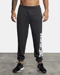 1 Heavyweight Sweatpant Black AVYNP00113 RVCA