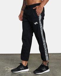 4 BEDWIN IPFU STRETCH TRACK PANT Black AVYNP00114 RVCA