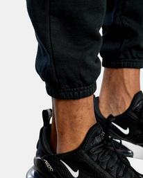 7 VA Essential Sweatpant Black AVYNP00116 RVCA