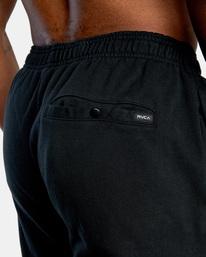 8 VA Essential Sweatpant Black AVYNP00116 RVCA