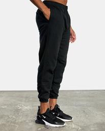 5 VA Essential Sweatpant Black AVYNP00116 RVCA