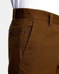 3 Kevin Spanky Long   Spanky Okapi Cropped Pants. Black AVYNP00117 RVCA