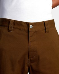 7 Kevin Spanky Long   Spanky Okapi Cropped Pants. Black AVYNP00117 RVCA