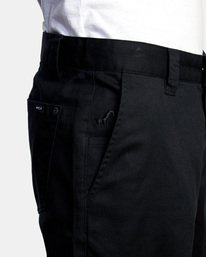 3 Kevin Spanky Long | Spanky Okapi Cropped Pants. Orange AVYNP00117 RVCA