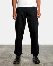 1 Kevin Spanky Long | Spanky Okapi Cropped Pants. Orange AVYNP00117 RVCA