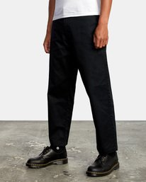 4 Kevin Spanky Long | Spanky Okapi Cropped Pants. Orange AVYNP00117 RVCA