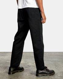 5 Kevin Spanky Long | Spanky Okapi Cropped Pants. Orange AVYNP00117 RVCA