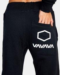 10 Gilbert Burns | VA Sport x Gilbert Burns Workout Sweatpants Black AVYNP00141 RVCA