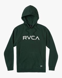 0 Big RVCA Hoodie Green AVYSF00143 RVCA