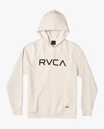 0 Big RVCA Hoodie Silver AVYSF00143 RVCA
