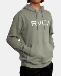 5 Big RVCA Hoodie Green AVYSF00143 RVCA