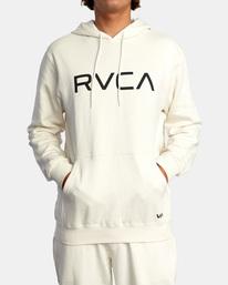 1 Big RVCA Hoodie Silver AVYSF00143 RVCA