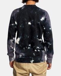 1 Tonally Crewneck Sweatshirt Black AVYSF00153 RVCA