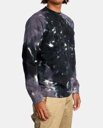 4 Tonally Crewneck Sweatshirt Black AVYSF00153 RVCA