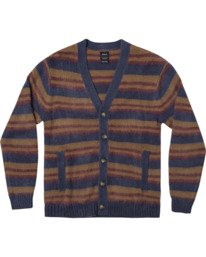 0 NOAH CARDIGAN sweater Blue AVYSW00100 RVCA