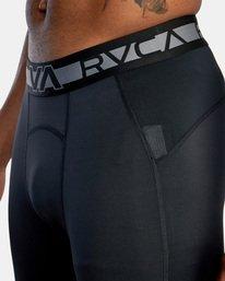 6 COMPRESSION PANT Black AVYWR00101 RVCA