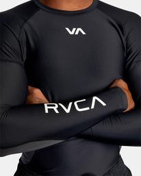 5 COMPRESSION LONG SLEEVE TEE Black AVYWR00102 RVCA