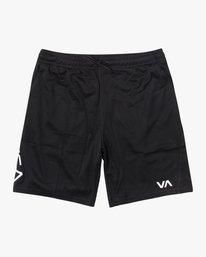 """0 VA MESH 17"""" SPORT SHORT Black AVYWS00133 RVCA"""