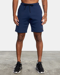 "0 VA SPORT IV SWEAT SHORT 19"" Blue AVYWS00135 RVCA"