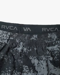 "14 YOGGER 15"" STRETCH SPORT SHORT Blue AVYWS00140 RVCA"