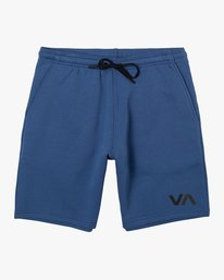 "0 VA SPORT IV 17"" SWEAT SHORT Blue AVYWS00152 RVCA"