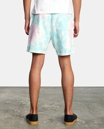 2 Jesse Lortz | RVCA x Jesse Lortz Elastic Shorts White AVYWS00170 RVCA
